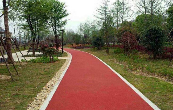 彩色沥青慢行路面施工图设计说明