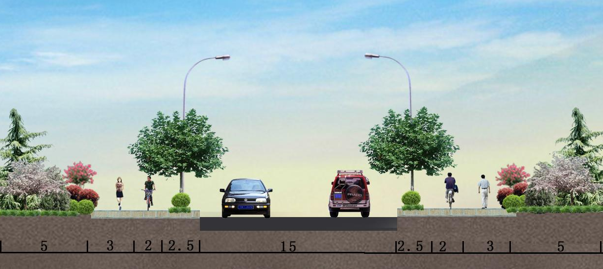 城市道路板块布置优缺点比较