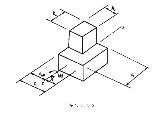 柱子和平板基础的抗冲切验算解析