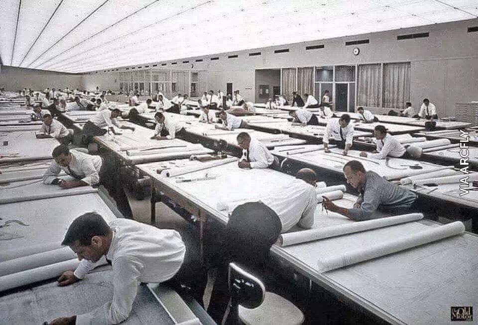 没有CAD的时代我们如何画图